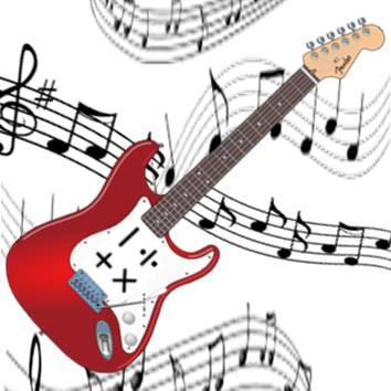 Mathematical guitar