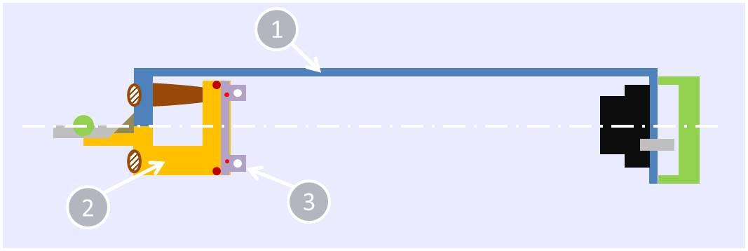 Twin stroke bow