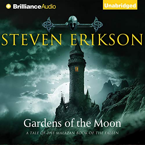 Gardens of the Moon, front cover of book