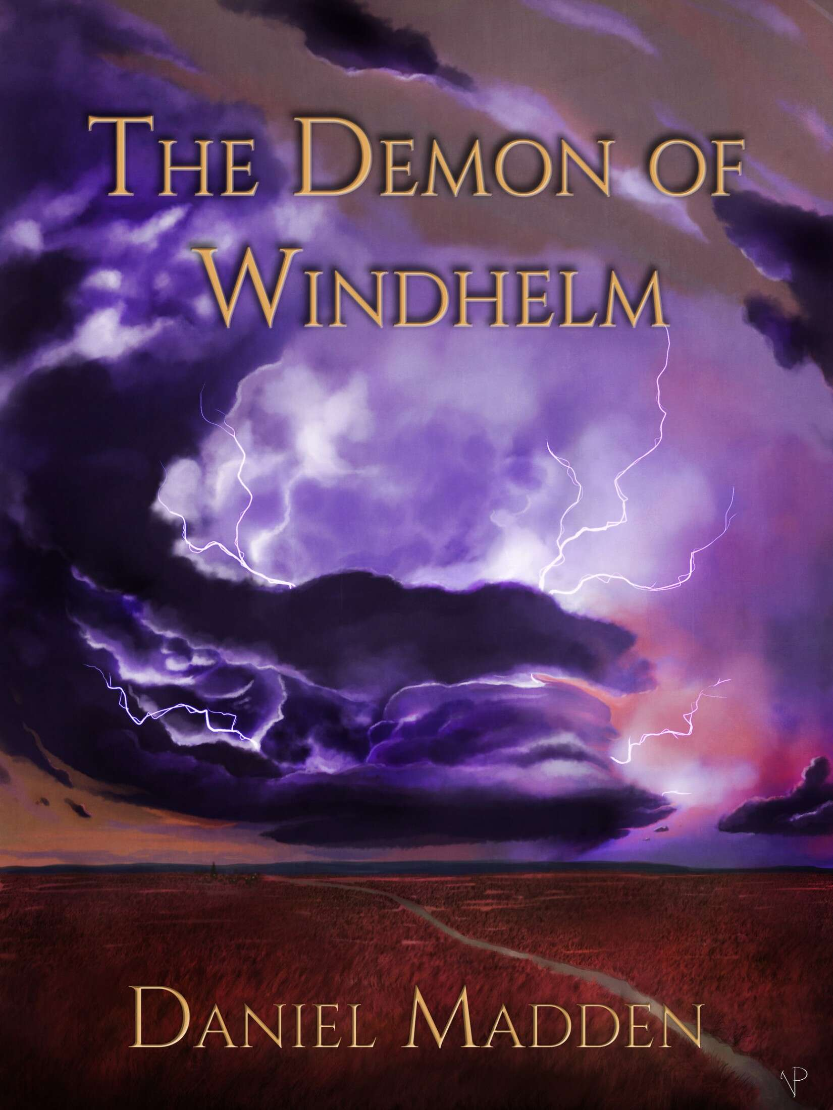 The Demon of Windhelm, front cover of Book